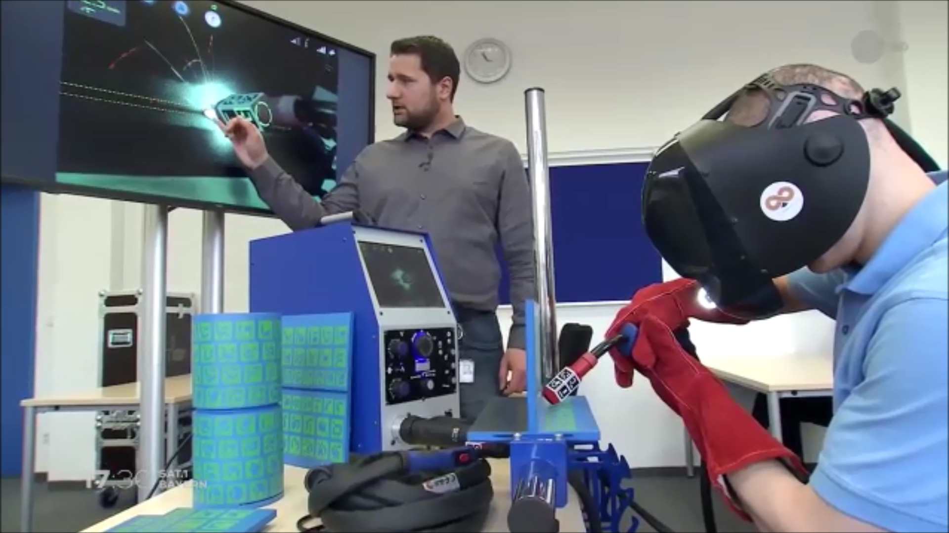 Siemens chooses Augmented Reality welding training system Soldamatic