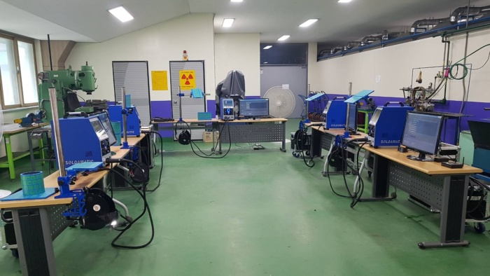 Soldamatic Augmented Reality classroom in Korea.